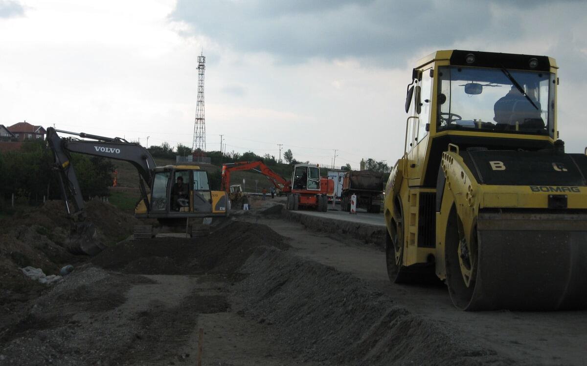 gradcoop pripremni radovi za izgradnju saobracajnice