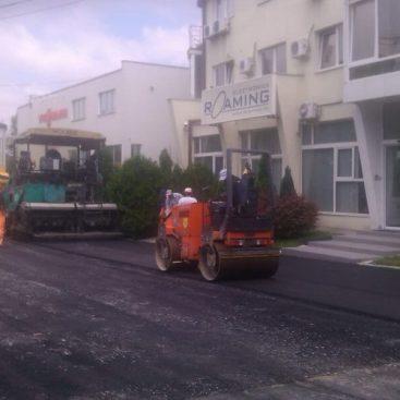 Asfaltiranje Parkinga ispred objketa kompanije Raoming na Vozdovcu