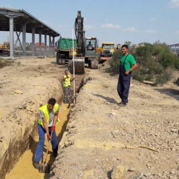 Izgradnja fekalne kanalizacije i toplovoda u Baroševcu _1