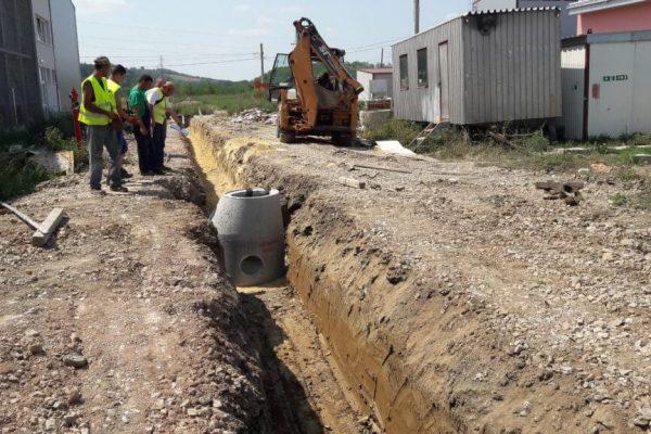 Izgradnja fekalne kanalizacije i toplovoda u Baroševcu _2