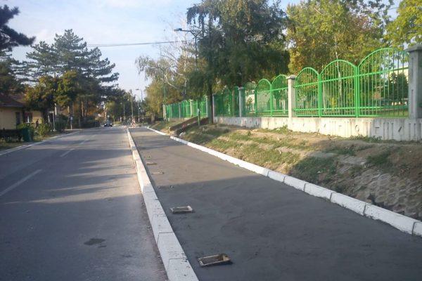 Rekonstrukcija prigradskih ulica 1 - opština Lazarevac