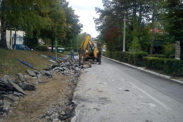 Rekonstrukcija prigradskih ulica 4 - opština Lazarevac