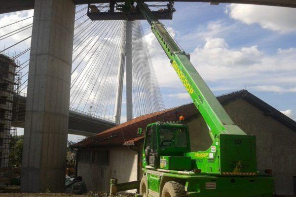 Pripremni i zemljani radovi Most na Adi slika7